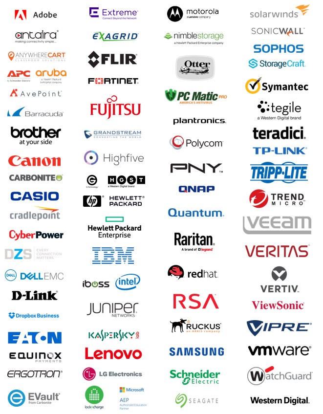 IT Featured Partner brands
